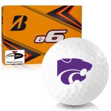 Bridgestone e6 Kansas State Wildcats Golf Balls