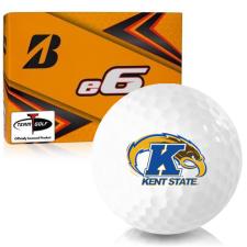 Bridgestone e6 Kent State Golden Flashes Golf Balls