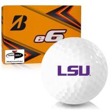 Bridgestone e6 LSU Tigers Golf Balls