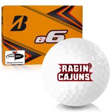 Bridgestone e6 Louisiana Ragin' Cajuns Golf Balls