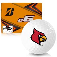 Bridgestone e6 Louisville Cardinals Golf Balls