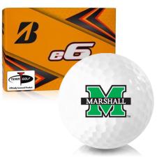 Bridgestone e6 Marshall Thundering Herd Golf Balls