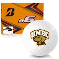 Bridgestone e6 Maryland Baltimore County Retrievers Golf Balls