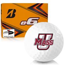 Bridgestone e6 UMass Minutemen Golf Balls