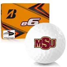 Bridgestone e6 Midwestern State Mustangs Golf Balls