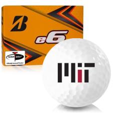 Bridgestone e6 MIT - Massachusetts Institute of Technology Golf Balls
