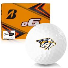 Bridgestone e6 Nashville Predators Golf Balls