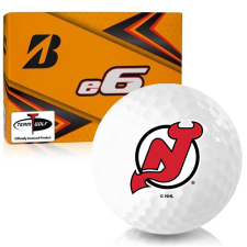 Bridgestone e6 New Jersey Devils Golf Balls