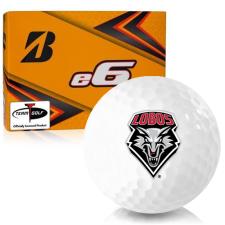 Bridgestone e6 New Mexico Lobos Golf Balls