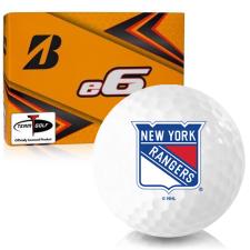 Bridgestone e6 New York Rangers Golf Balls