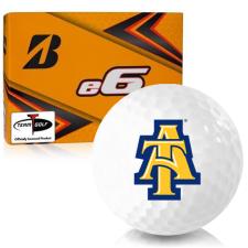 Bridgestone e6 North Carolina A&T Aggies Golf Balls