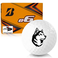 Bridgestone e6 Northeastern Huskies Golf Balls