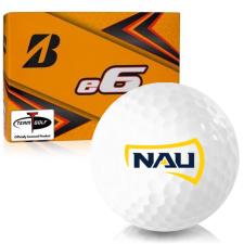 Bridgestone e6 Northern Arizona Lumberjacks Golf Balls