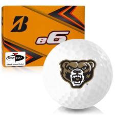 Bridgestone e6 Oakland Golden Grizzlies Golf Balls