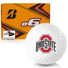 Bridgestone e6 Ohio State Buckeyes Golf Balls