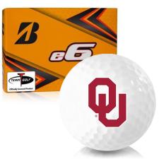 Bridgestone e6 Oklahoma Sooners Golf Balls