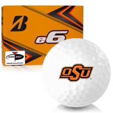 Bridgestone e6 Oklahoma State Cowboys Golf Balls
