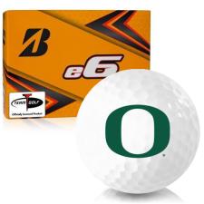 Bridgestone e6 Oregon Ducks Golf Balls