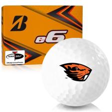 Bridgestone e6 Oregon State Beavers Golf Balls
