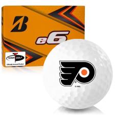 Bridgestone e6 Philadelphia Flyers Golf Balls