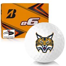Bridgestone e6 Quinnipiac Bobcats Golf Balls