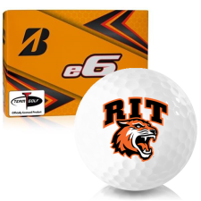 Bridgestone e6 RIT - Rochester Institute of Technology Tigers Golf Balls