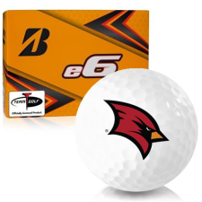 Bridgestone e6 Saginaw Valley State Cardinals Golf Balls