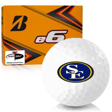 Bridgestone e6 Southeastern Oklahoma State Savage Storm Golf Balls