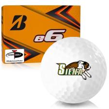 Bridgestone e6 Siena Saints Golf Balls