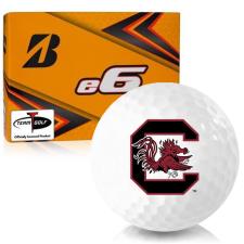 Bridgestone e6 South Carolina Fighting Gamecocks Golf Balls