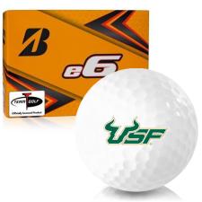 Bridgestone e6 South Florida Bulls Golf Balls