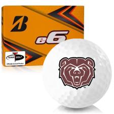 Bridgestone e6 Southwest Missouri State Bears Golf Balls