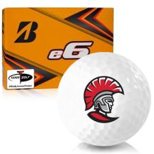 Bridgestone e6 Tampa Spartans Golf Balls