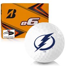 Bridgestone e6 Tampa Bay Lightning Golf Balls
