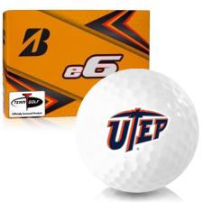 Bridgestone e6 Texas El Paso Miners Golf Balls