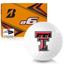 Bridgestone e6 Texas Tech Red Raiders Golf Balls