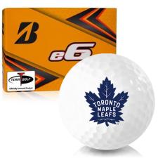 Bridgestone e6 Toronto Maple Leafs Golf Balls