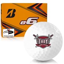 Bridgestone e6 Troy Trojans Golf Balls