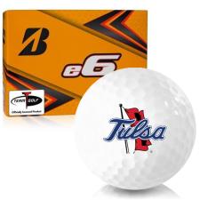 Bridgestone e6 Tulsa Golden Hurricane Golf Balls