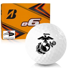 Bridgestone e6 US Marine Corps Golf Balls