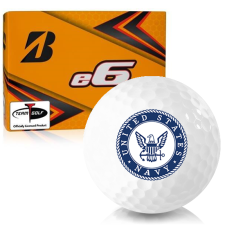 Bridgestone e6 US Navy Golf Balls