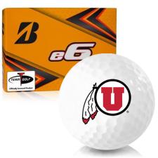 Bridgestone e6 Utah Utes Golf Balls