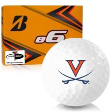 Bridgestone e6 Virginia Cavaliers Golf Balls
