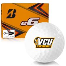 Bridgestone e6 Virginia Commonwealth Rams Golf Balls