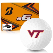 Bridgestone e6 Virginia Tech Hokies Golf Balls