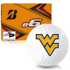 Bridgestone e6 West Virginia Mountaineers Golf Balls