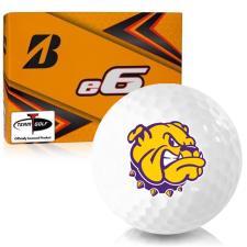 Bridgestone e6 Western Illinois Leathernecks Golf Balls