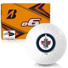Bridgestone e6 Winnipeg Jets Golf Balls