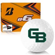 Bridgestone e6 Wisconsin Green Bay Phoenix Golf Balls
