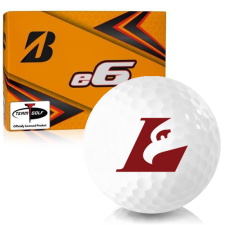 Bridgestone e6 Wisconsin La Crosse Eagles Golf Balls